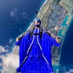 Dan backflying the Freak 3 over the Maldives